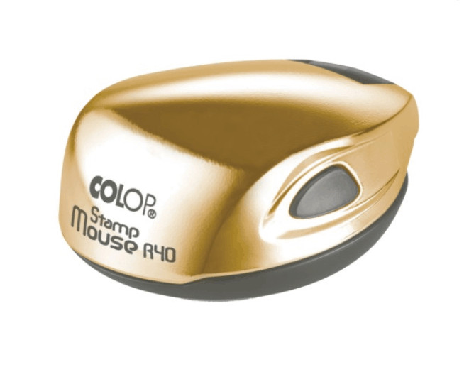 Colop Stamp Mouse R40 Gold